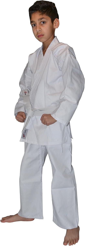 TurnerMAX Traje Karate de algod/ón Blanco 8 oz con cintur/ón