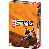 CLIF BUILDER'S - Protein Bar - Crunchy Peanut Butter - (2.4 Ounce Bar, 12 Count)