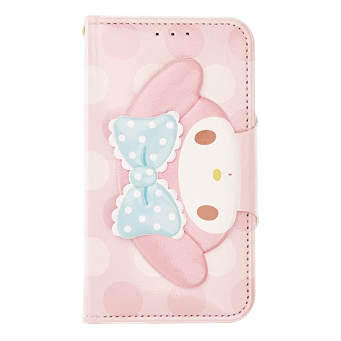 outlet store 5ab56 5bf64 iPhone Xs Max Case My Melody Cute Diary Wallet Flip Mirror Cover for [  Apple iPhone Xs Max (6.5inch) ] Case - Face Button My Melody Pink