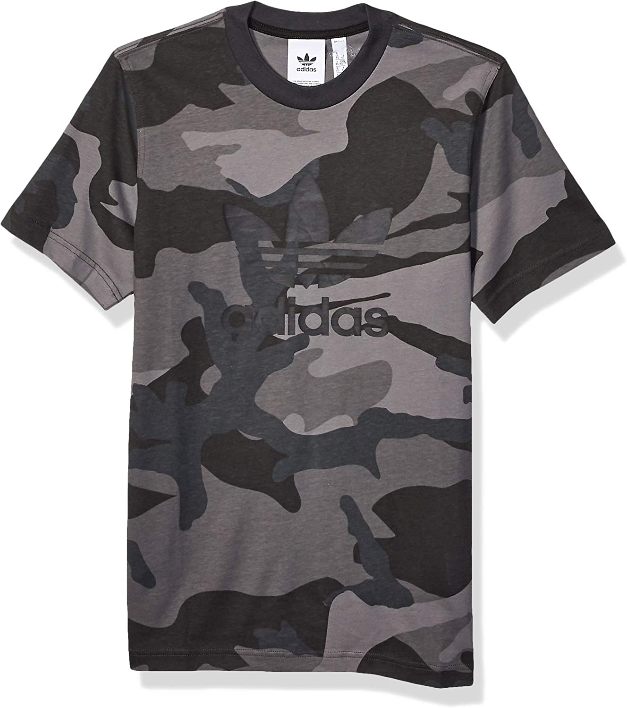 adidas Originals - Camiseta de camuflaje para hombre