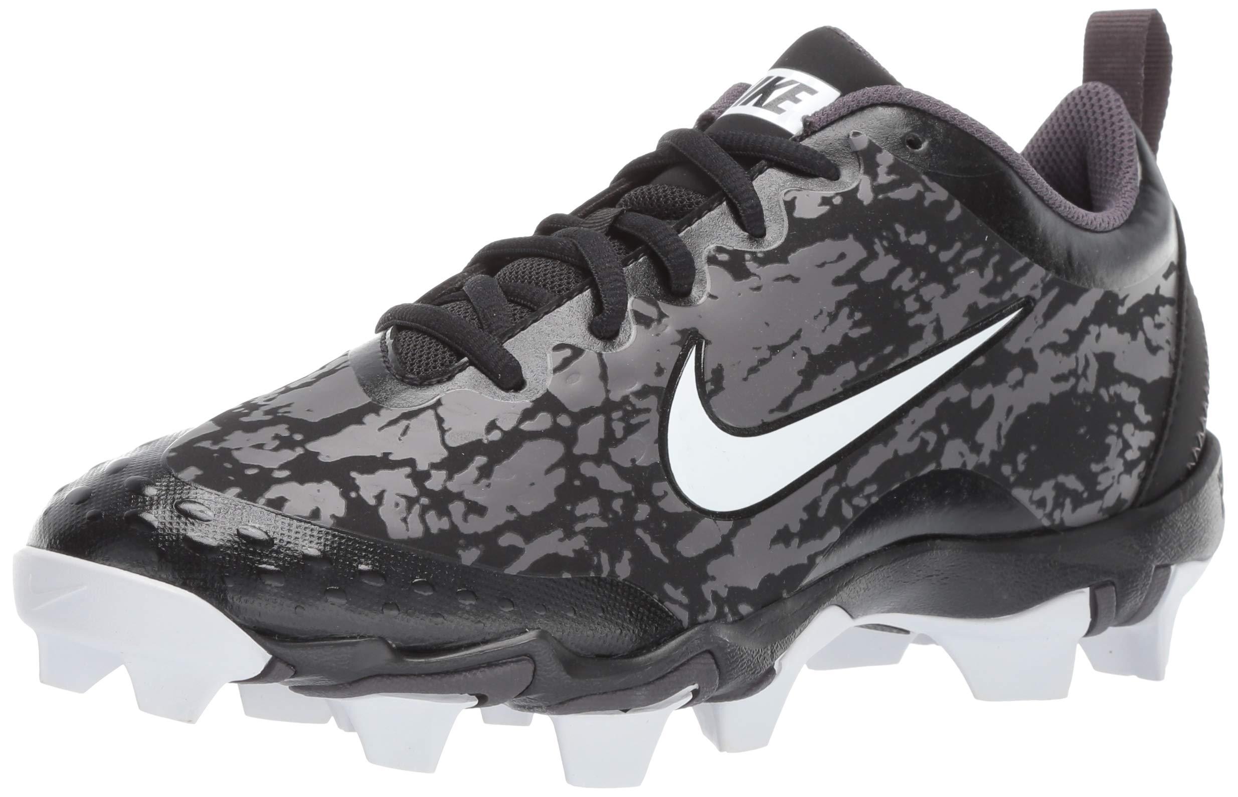 Nike Women's Hyperdiamond 2.5 Keystone Baseball Shoe, Black/White/Thunder Grey, 9 Regular US by Nike