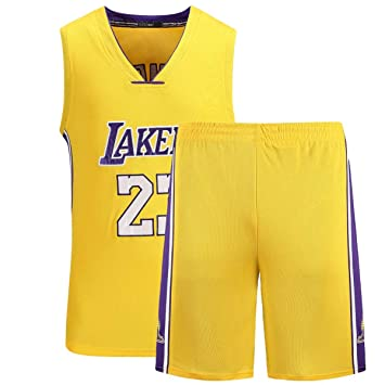 huge discount 0bd19 b7729 Formesy NBA Jersey Lebron James #23 Lakers Basketball Trikot ...