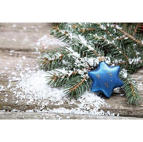 OERJU 2,7x1,8m Navidad Fondo Navidad Decoración Estrella ...