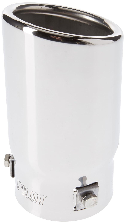ER60016 - Acero inoxidable de tubo de escape del tubo de escape de para atornillar Embellecedor de tubos de escape universales: Amazon.es: Coche y moto
