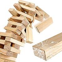 Ropoda Wood Block Stack Giant Tumbling Timbers Game