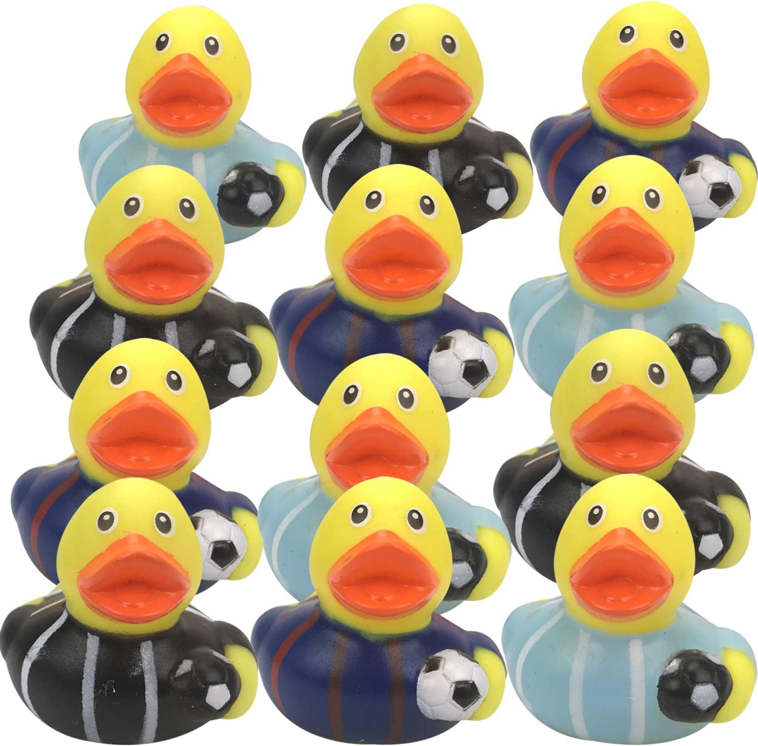 Birthday Livativ 2 Inch Alphabet Rubber Duckies Baby Shower Learn Your Alphabet Toys for Bath Mini Bath Time Toys for Infants and Toddlers from Playko Tiny Rubber Ducks for Kids Pack of 26