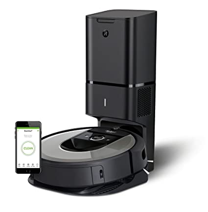 iRobot Roomba i7556 15168 - Robot Aspirador, Color Plateado: Amazon ...