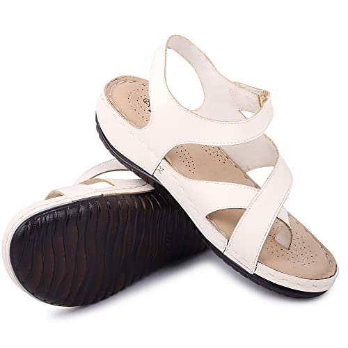 exquisite style competitive price special for shoe Buy YAHE PU Leather Doctor Sole Orthopedic Sandals for Womens ...