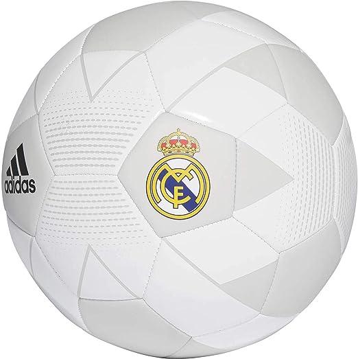 adidas Real Madrid Fbl Balón Temporada 2017/2018, Hombre: Amazon ...