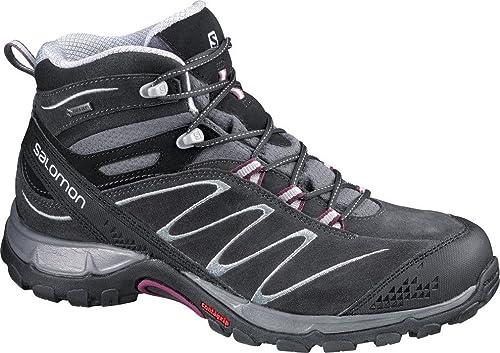 Salomon Ellipse Mid LTR GTX - Zapatillas de Trekking y Senderismo de Media para Mujer, Color Gris, Talla 36 2/3: Amazon.es: Zapatos y complementos