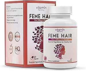Original Feme Hair Healthy Hair Vitamins