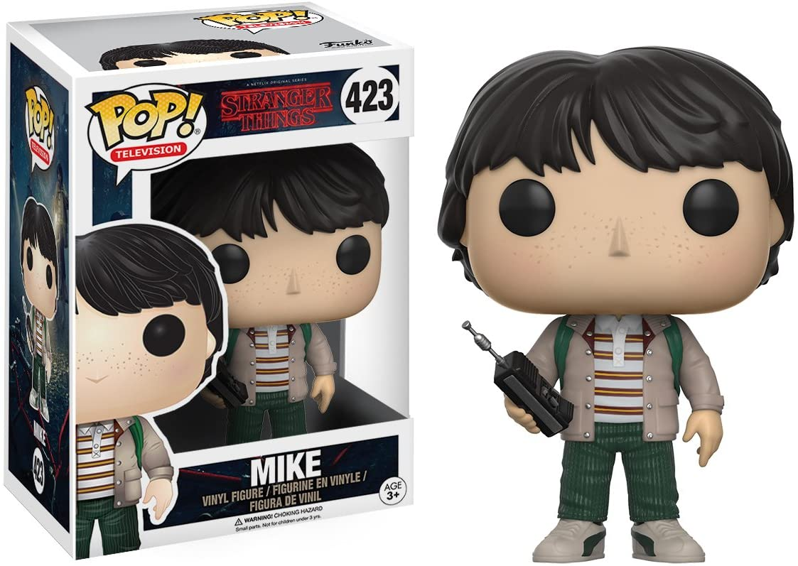 Funko Stranger Things Mike Figura de Vinilo (13322): Amazon.es: Juguetes y juegos