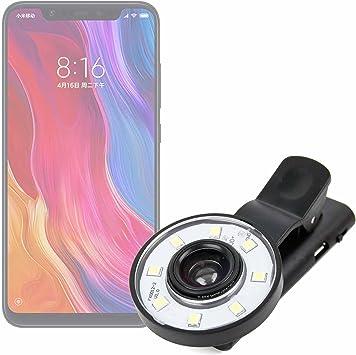 DURAGADGET Flash Selfie para Smartphone Xiaomi Mi 8, Xiaomi Mi 8 ...