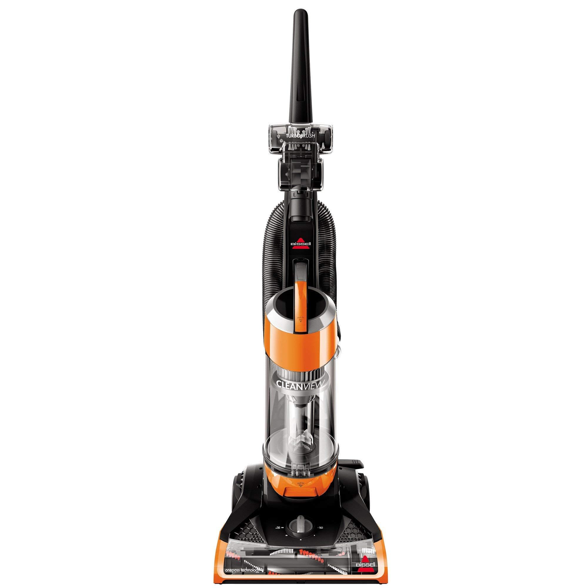 Bissell Cleanview Upright Bagless Vacuum, 1, Orange (Renewed)