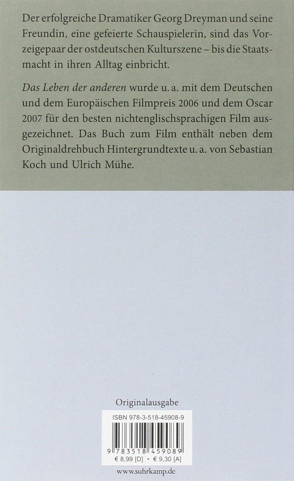Filmanalyse: Das Leben der Anderen (German Edition)