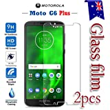 [2-Pack] Motorola Moto G6 Plus Tempered Glass LCD Screen Protector Film Guard