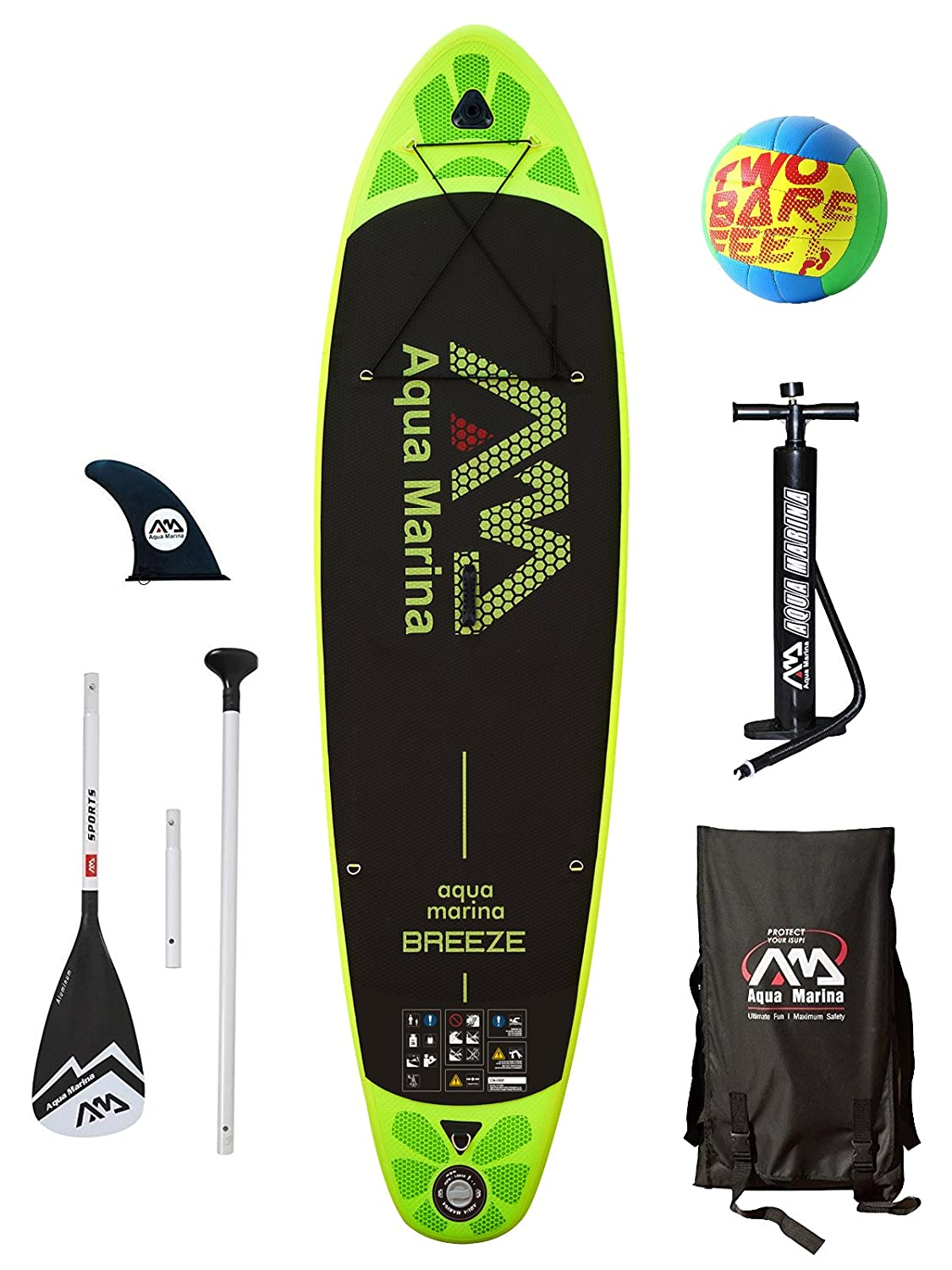 Aqua Marina Vapor Breeze Fusion Monster - Tabla de Paddle Surf hinchable, Breeze 99 (Starter Pack): Amazon.es: Deportes y aire libre