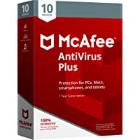 Mcafee 2018antivirus plus–10dispositivos