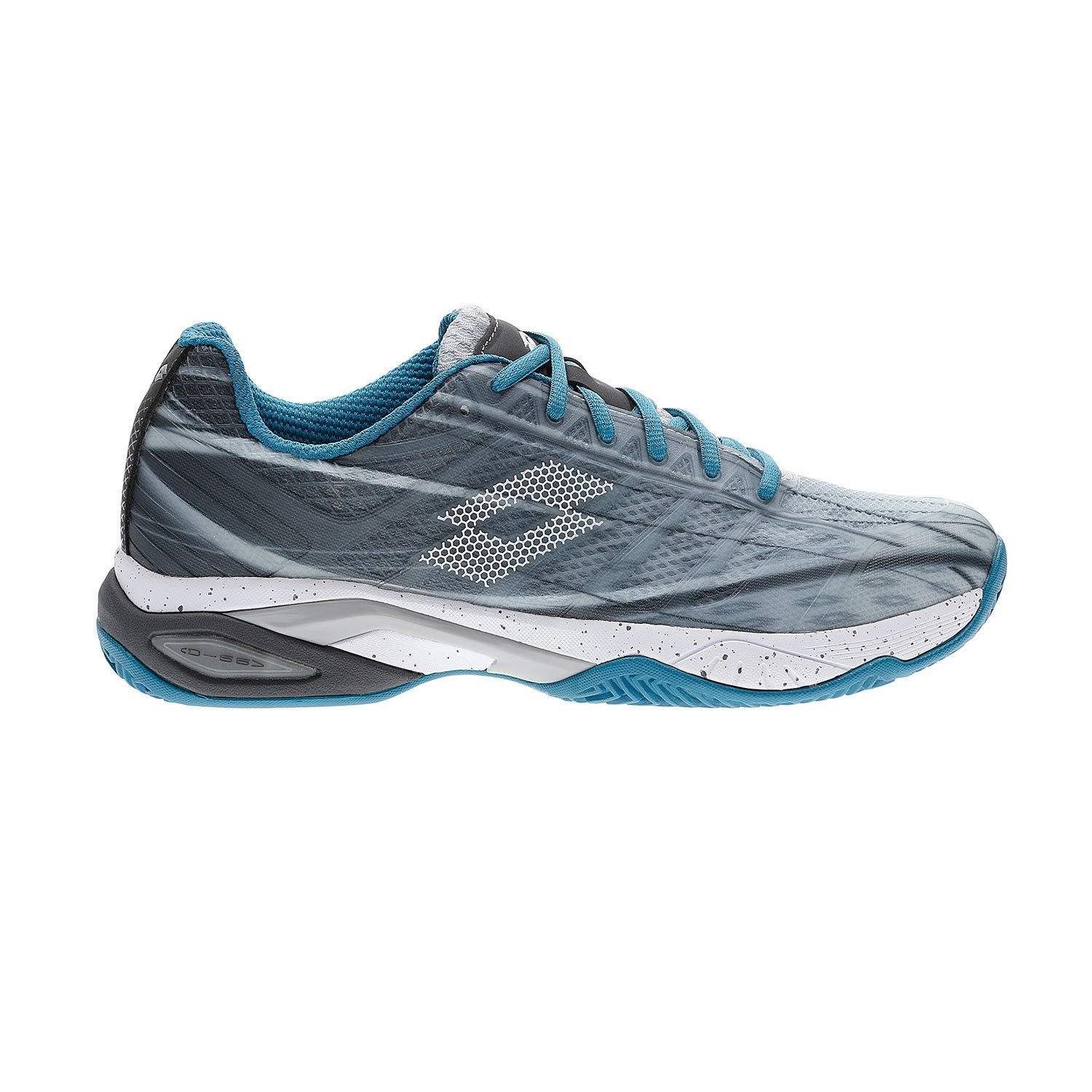 Zapatillas Lotto Mirage 300 Cly Hombre 210733. Silver Metal 2/All ...