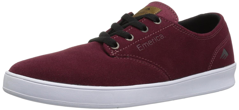 Emerica Men\'s The Romero Laced Skate Shoe Burgundy