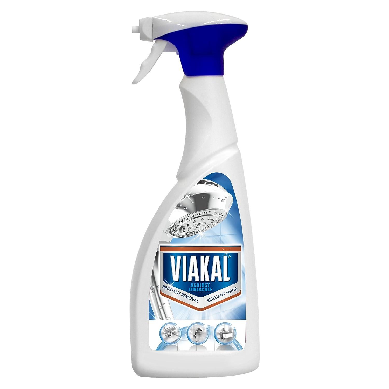 Viakal Limescale Remover Spray, 500 ml - Pack of 5: Amazon.co.uk ...