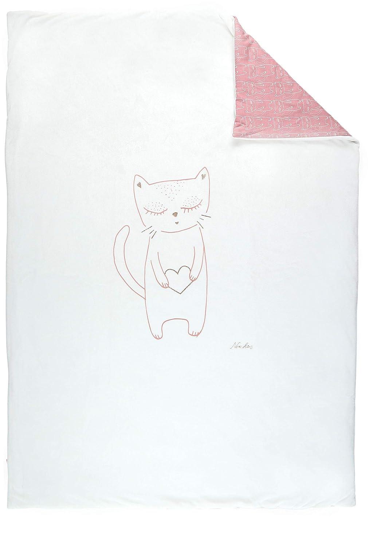 Noukies BB1860.09 Imagine Veloudoux Decke 100x140 cm, rosa