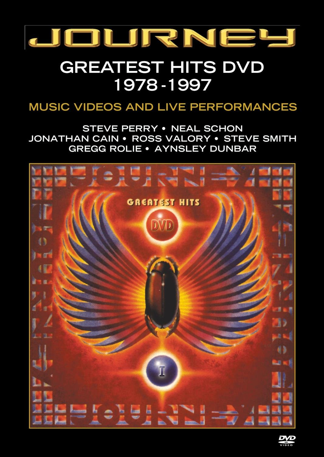 DVD : Journey - Greatest Hits DVD 1978-1997: Videos and Live Performances (DVD)