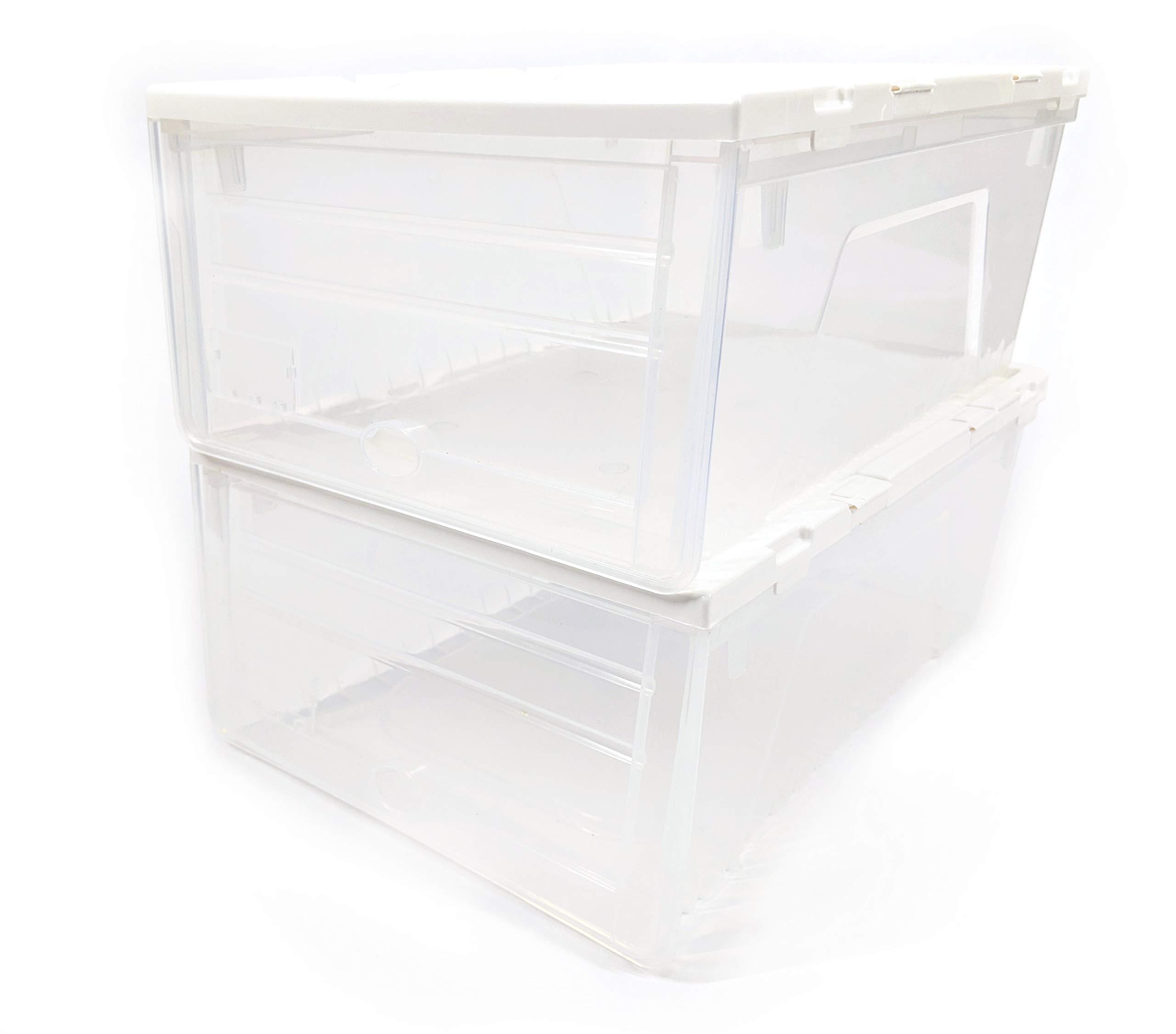 LapWorks Link-It Storage Boxes (Set of 2) - Accessory for The Link-It Cart (2 Storage Boxes) by LapWorks