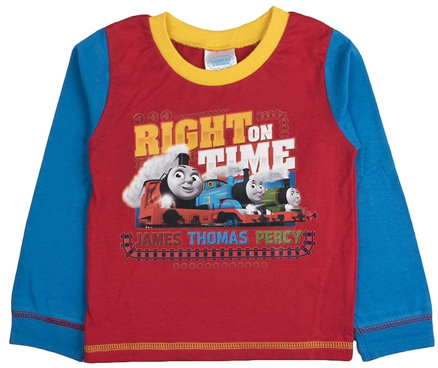 Boys Thomas & Friends Right On Time Snuggle Fit Pyjamas 18-24 Months: Amazon.es: Ropa y accesorios