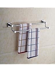 KHSKX Quartet double professional bathroom rack