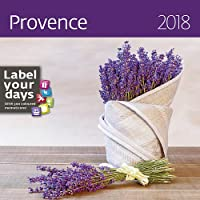 Provence Calendar - Calendars 2017 - 2018 Calendar - Lavender Calendar - France Calendar - Flower Calendar - Photo Calendar By Helma