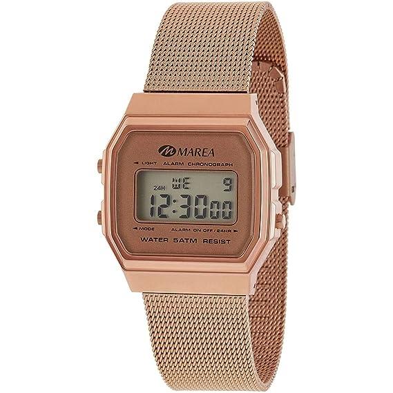 9d4c1dfa7979 Reloj Marea Mujer B35313 8 Digital Retro Rosado  Amazon.es  Relojes