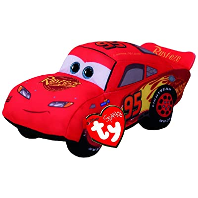Ty Cars 42253 3 Lightning McQueen Plush Toy, Multi: Toys & Games