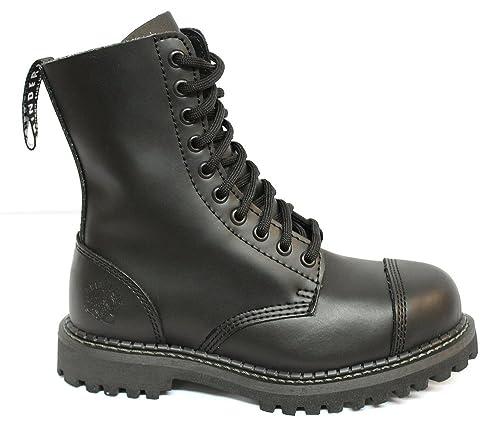 75ba29ad38cca Grinders Vintage Mens Women Unisex Leather Designer Look Derby Punk ...
