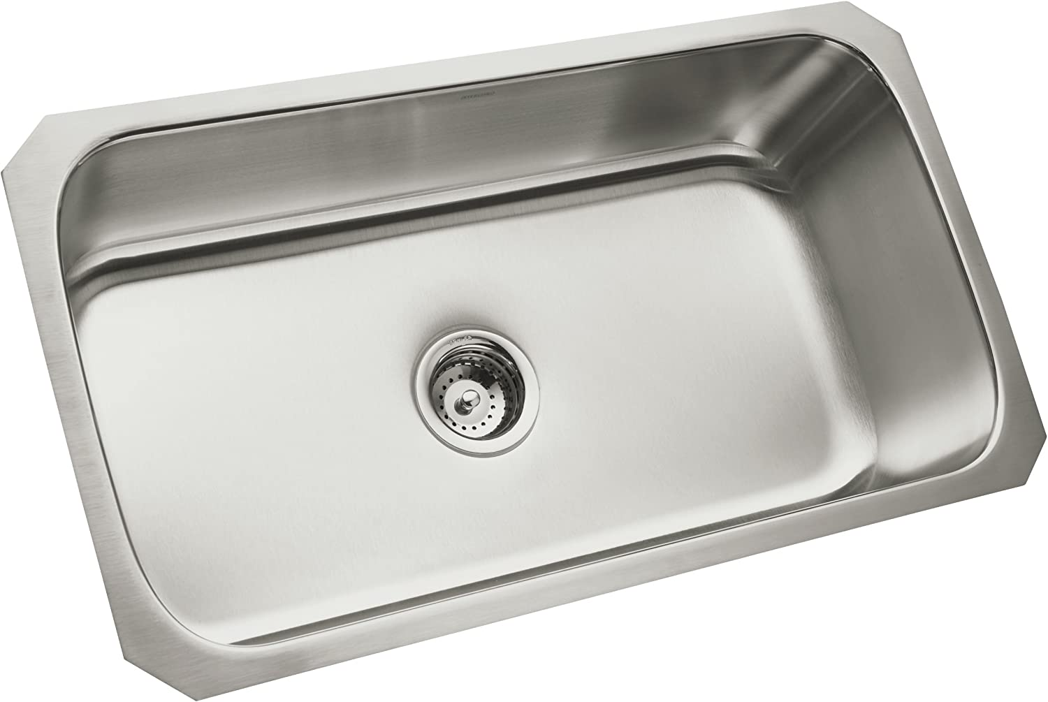 STERLING 11600-NA 32-Inch McAllister 32-Inch by 18-Inch Under-Mount Single Bowl Kitchen Sink, Stainless Steel