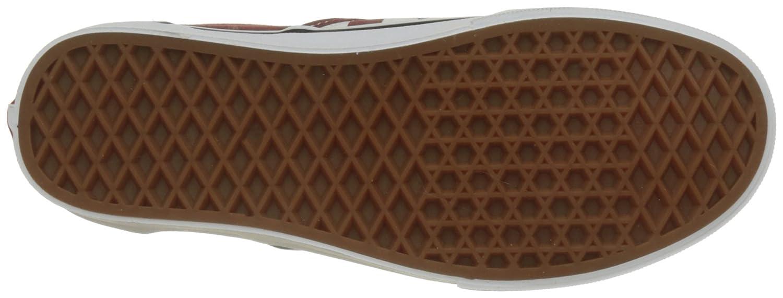 Vans Unisex-Erwachsene Classic Sneaker Slip-on Sneaker Classic Rot (Checkerboard) cfd71a