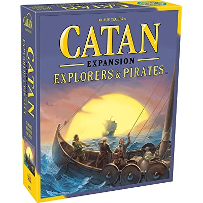 Catan: Explorers & Pirates Expansion 5th Edition: Toys & Games