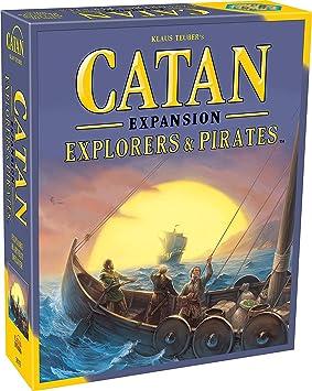 Mayfair Games Catan Expansion Explorers and Pirates Board Game: Amazon.es: Juguetes y juegos