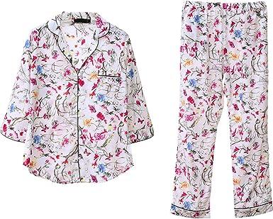 Pijama Señoras De Primavera Y Otoño Pijamas De Algodón De Moda ...