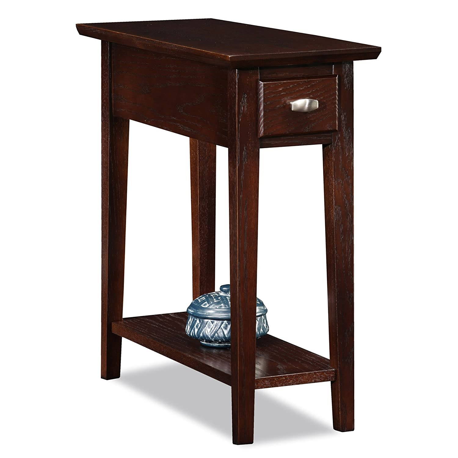 Amazon.com: Leick 10071-CH Chairside/Recliner End Table: Kitchen ...