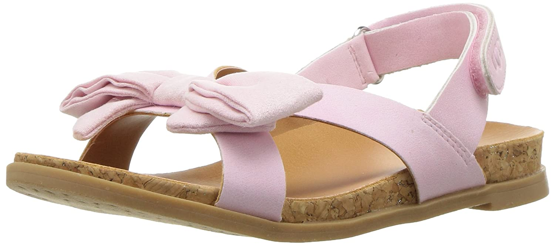 36bb171249a UGG UGG Girls K Fonda Flat Sandal, Seashell Pink, 6 M US Big Kid ...