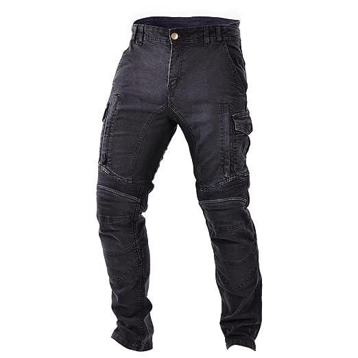 Impresión de pantalones vaqueros para motorista: Amazon.es ...
