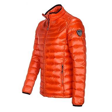 49da633fe8e Emporio Armani Blouson Doudoune HOMME-100 G. EA7 Art   271359 5A385 - Orange