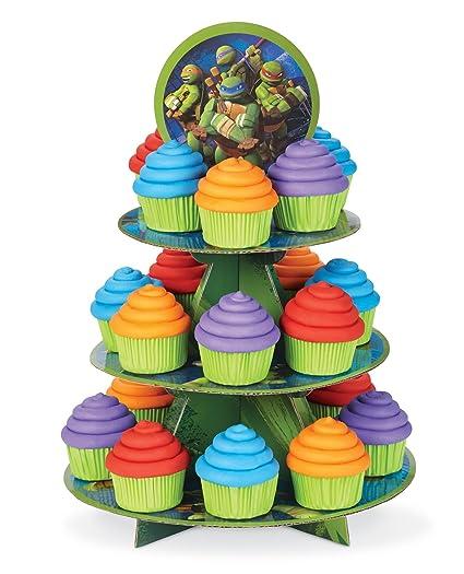 1 X Teenage Mutant Ninja Turtles Cupcake Stand