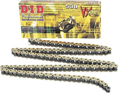 Amazon.com: New D.I.D. DID530VX Chain 120 Link for Kawasaki ...