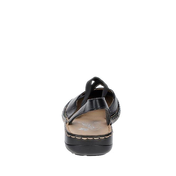 Rieker 64871 01 Bailarinas Sling Sandalias Para Mujer