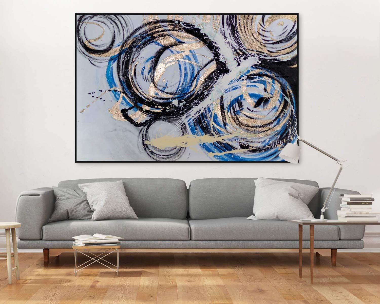Kunstloft® Extraordinario Cuadro al óleo Perpetual Motion ...