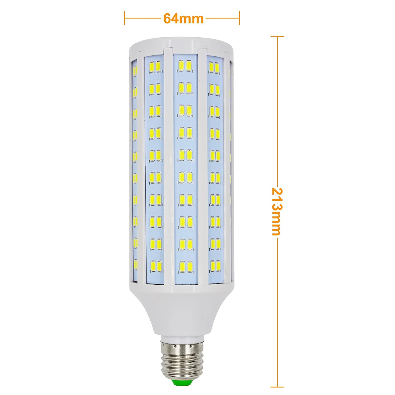 MENGS® 2 unidades E27 Bombilla LED 30 W Blanco Frío 6500 K AC 85 - 265 V 230 X 5730 SMD: Amazon.es: Iluminación