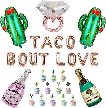Fiesta Rose Gold Balloons,Fiesta Letter Balloons,Fiesta Theme,Fiesta Bridal Shower,Fiesta Baby Shower,Fiesta Wedding,Fiesta Birthday,Cactus
