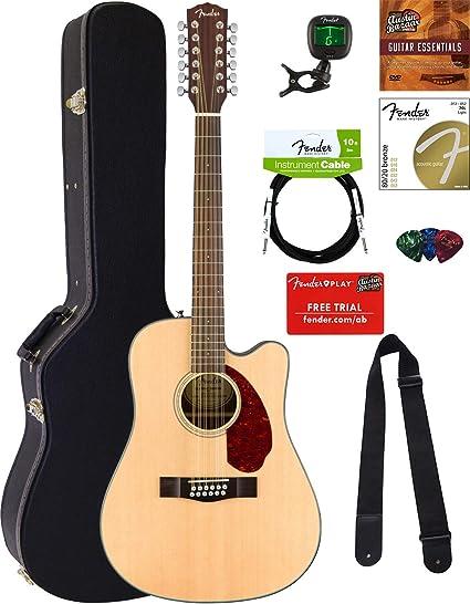 Fender CD-140 guitarra acústica: Amazon.es: Instrumentos musicales